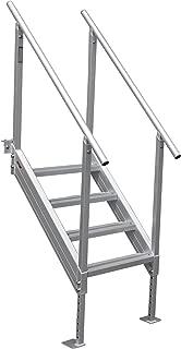 aluminum dock stairs