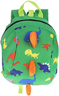 Kid Backpack Kids Safety Backpack Cute Dinosaur Cartoon Baby Safety Harness Toddler Anti-lost Bag Children Schoolbag (Color : 01)