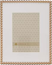 Lawrence Frames Lawrence Home Picture Frame, 8x10, Gold