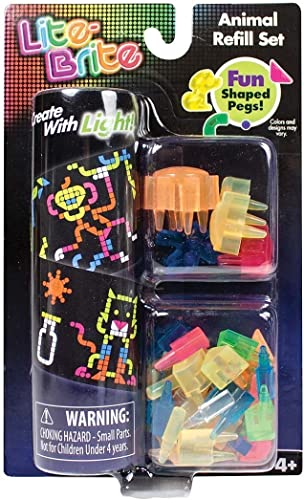 Lite Brite Animal Refill Set