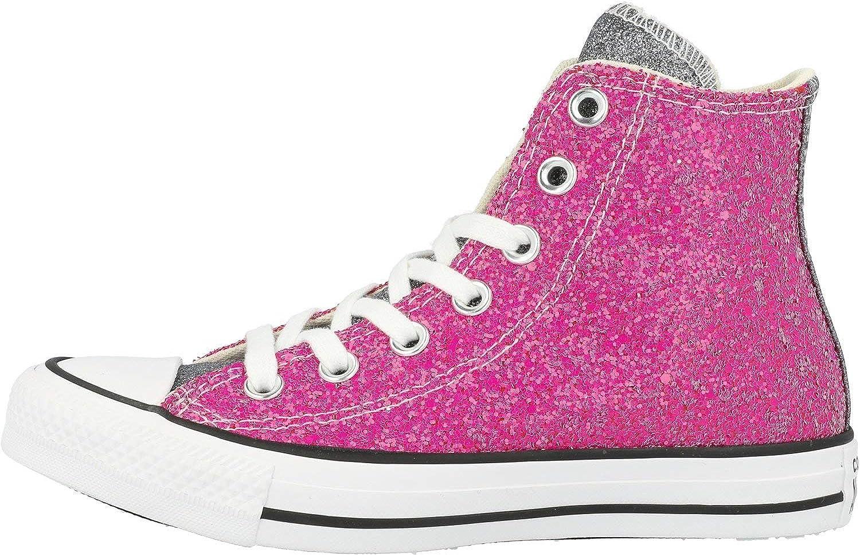converse donna rosa glitter