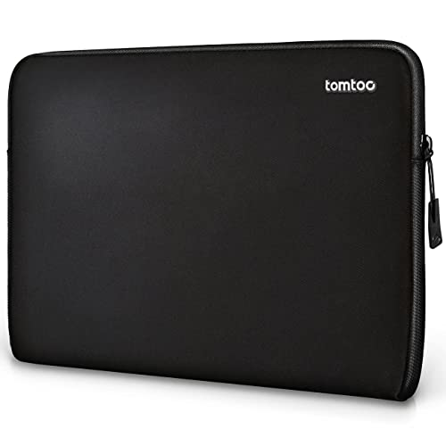 tomtoc 15-15.6 Inch Laptop Sleeve Slim Case Cover Notebook Bag, Compatible with HP