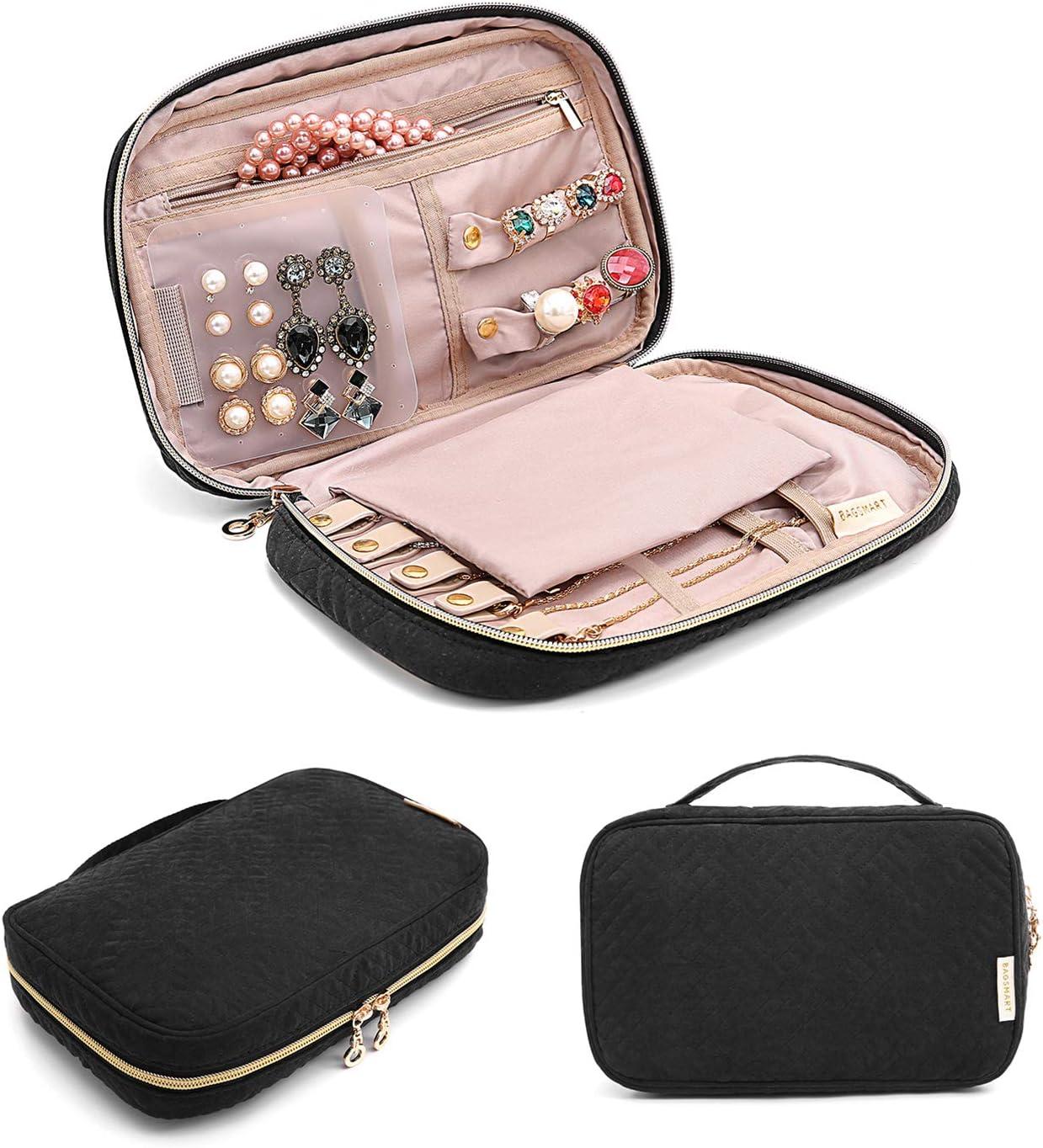 small jewellery bag with chain Jewellery bag security chain jewel bag travel bag organizer jewelry