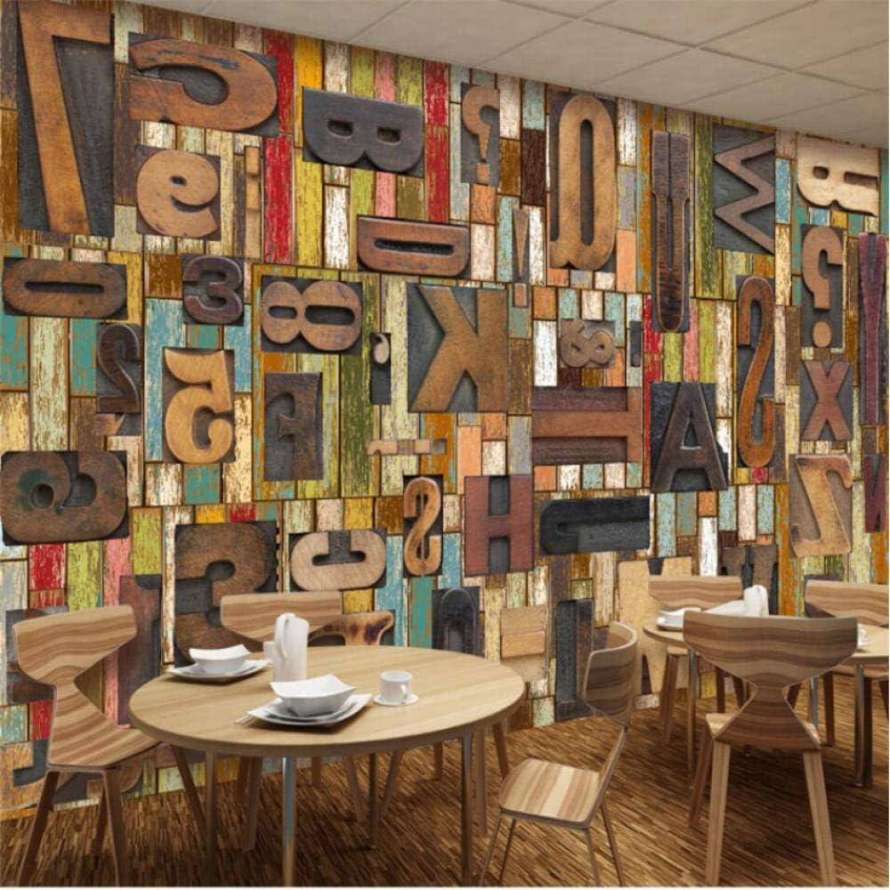 Pbldb Custom Large Austin Mall Murals Green Woodcut Max 47% OFF English Wallpaper Retro