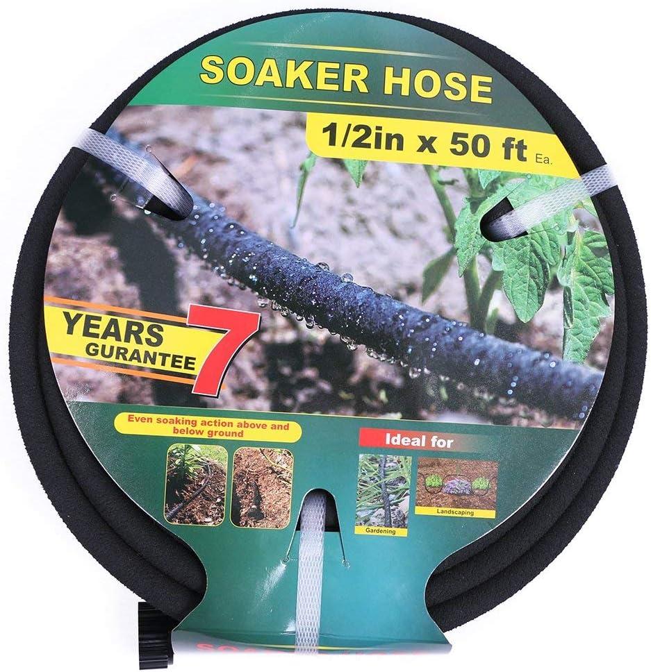 Taisia latest 1 2 inch Soaker Houston Mall Hose 50ft Free 70% Per Saves Lead Water