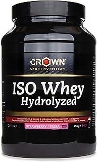 Crown Sport Nutrition ISO Whey Hydrolyzed Optipep 90, Proteína de Suero de Leche, Suplemento