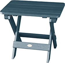 product image for Highwood AD-TBS1-NBE Adirondack Folding Side Table, Nantucket Blue