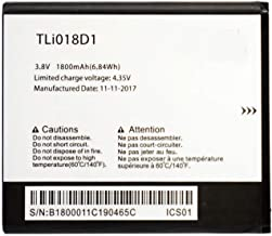 FEMAI Compatible TLi018D1 Backup Battery Replacement for Alcatel One Touch Pop D5 5038D 1800mAh