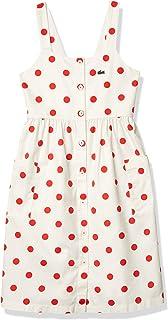 Lacoste Girls' Sleeveless Buttondown Dress