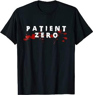 Zombie Halloween Costume Patient Zero Zombie Outbreak Tshirt