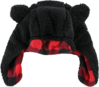 Critter Hats For Kids And Adults by LazyOne | Fun Costume Winter Bear Moose Buffalo Beanie Hats