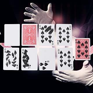 YOYOHOT 1set Magic Tricks Props Gimmick Cards Fast Printing Gimmick Cards Magic Tricks Props Stage Close Up Magic Magican