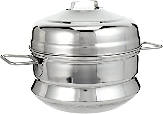 RAJ Stainless Steel Cooking Pots 1Pieces- Grey