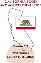 California Food and Agricultural Code 2020 Edition [FAC] Volume 2/2