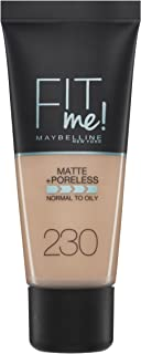 Maybelline New York Fit Me Matte & Poreless Foundation 230 Natural Buff 30ml
