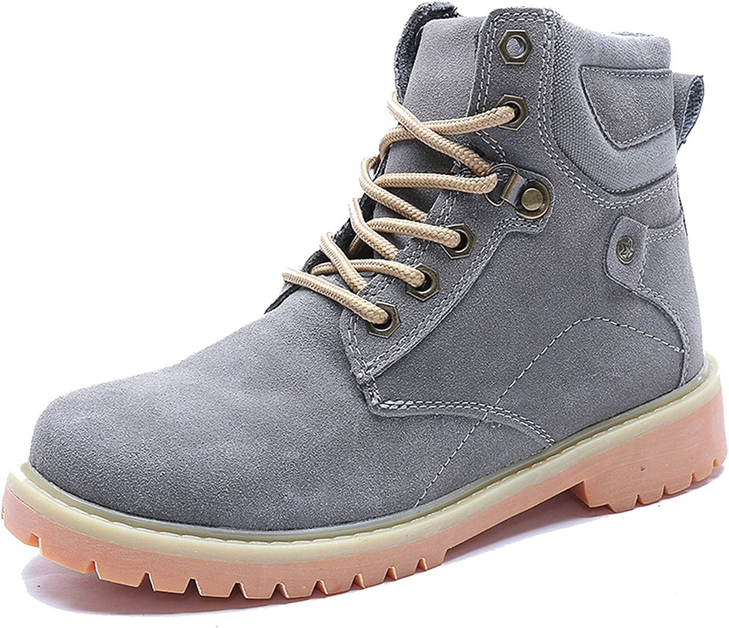 Moonwalker Women's Suede Leather Lace Up Ankle Boot