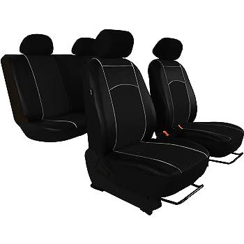 KIA VENGA 10-ON Full Set Leather Look Seat Cover Set Front Rear