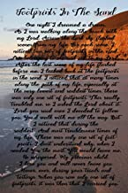 Best poem about jesus footprints in the sand Reviews