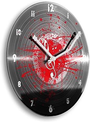 Reloj redondo luminoso doble neón Coca-Cola rojo y blanco ...