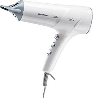 Grundig- Secador de pelo 2300W, color blanco.