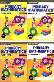 Singapore Math Primary Mathematics Grade 1 Set (4 Books) Common Core Edition