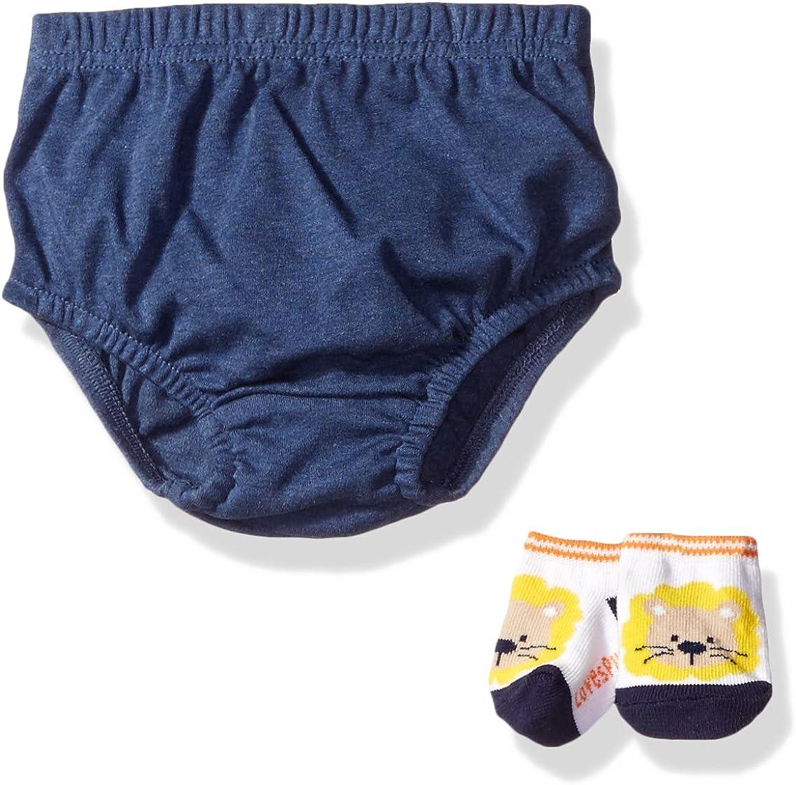 Lovespun Baby Boys' Perfect Picture 2 Piece Diaper Set