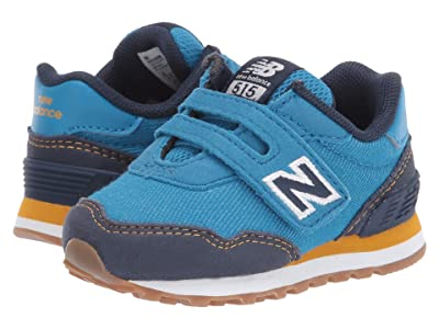 New Balance Kids 515 Hook Loop (Infant/Toddler) (Neo Classic Blue/Natural Indigo) Boys Shoes