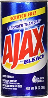 Ajax Powder Cleanser with Bleach, 14 oz (396 g) (2 Pack)