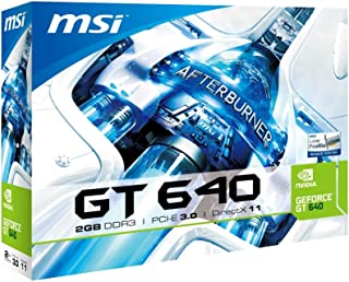 MSI GeForce GT640 搭載ビデオカード GT640 Lowprofile 1スロット2GBメモリ搭載 3画面同時出力 日本正規代理店品 VD4837 N640GT-MD2GD3/LP