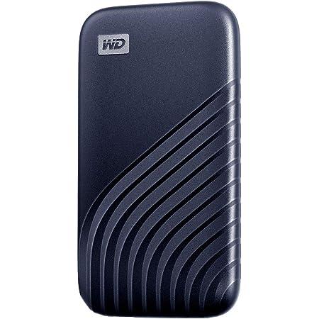 WD ポータブルSSD 500GB ブルー USB3.2 Gen2 My Passport SSD 最大読取り1050 MB/秒 外付けSSD /5年保証 WDBAGF5000ABL-WESN