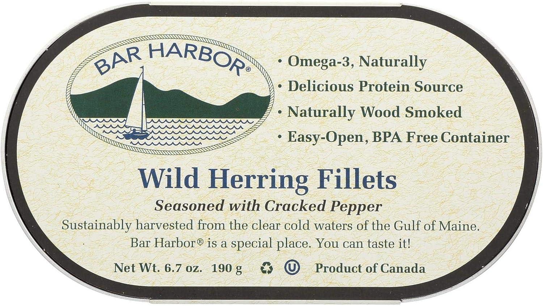 Cheap SALE Start Bar Harbor Wild Herring Fillets - of Cracked Case Pepper Seattle Mall 12