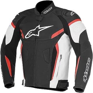 Alpinestars GP Plus R V2 Airflow Leather Motorcycle Riding Jacket Black/White/Red Mens Size 56