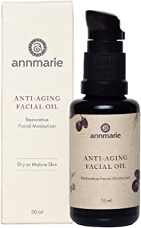 Annmarie Skin Care Anti-Aging Facial Oil - Moisturizing Face Oil For Dry or Mature Skin with Jojoba Oil, Goji Berries + Ch...