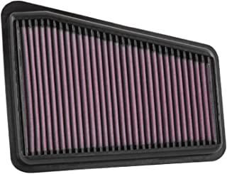 K&N Engine Air Filter: High Performance, Premium, Washable, Replacement Filter: Fits 2018-2019 GENESIS/KIA (G70, Stinger),...