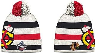 Reebok Chicago Blackhawks NHL 2017 Winter Classic Cuffed Knit Cap/Beanie