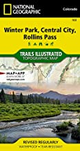 Winter Park, Central City, Rollins Pass (National Geographic Trails Illustrated Map)