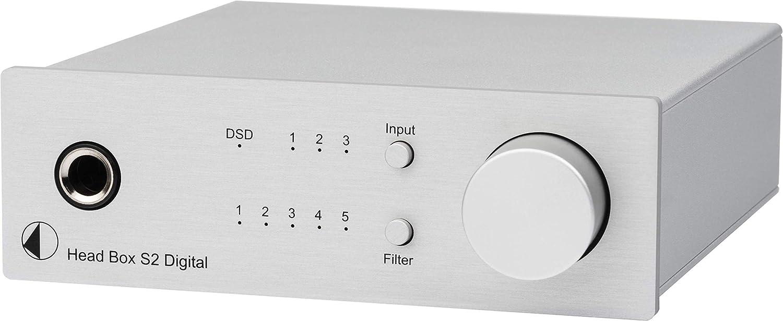Pro Ject Head Box S2 Digital Mikro High End Kopfhörerverstärker Head Box S2 Digital Silber Audio Hifi