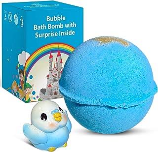 1 Bath Bomb with Surprise Toy Inside For Kids -Fun Little Bird Inside
