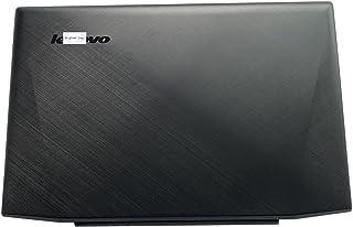 غطاء خلفي خلفي خلفي لجهاز Lenovo Y50-70 غطاء خلفي خلفي أسود بغطاء لمس AM14R000300