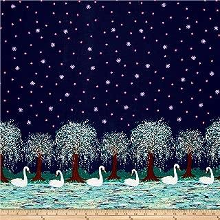 michael miller swan lake fabric