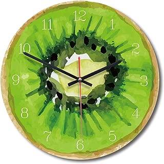 Alovelycloud Creative Fruit Wall Clock Lime Modern Kitchen Clock Watch Home Decor Living Room Clock Tropical Fruit Wall Art Timepieces,C