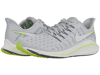 Nike Air Zoom Vomero 14 (Grey Fog/Sail/Smoke Grey/Volt) Men