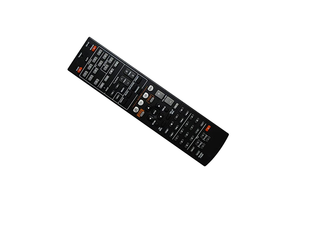 Hotsmtbang Replacement Remote Control for Yamaha RX-V565 RX-V565BL YHT-791 YHT-791BL 7.1-Channel Home Theater Receiver