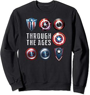 Marvel Captain America Shield Styles Sweatshirt
