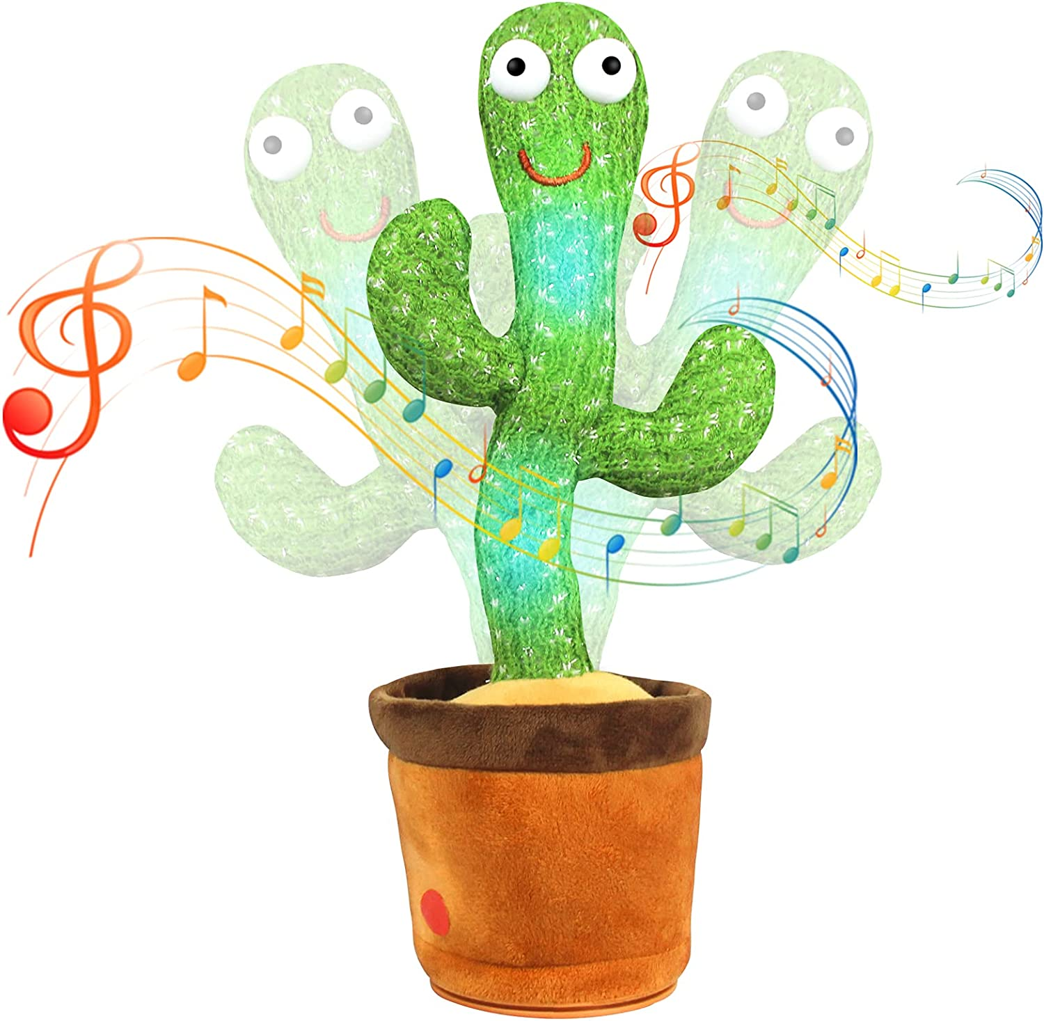 Buy Dancing Cactus Toys for Baby, Talking Cactus Toy, Singing Cactus Toy  with Lighting, Electric Recording Cactus Plush Toy for Home Decoration and  Baby Playing, Cactus for Your Baby Including 60 Music