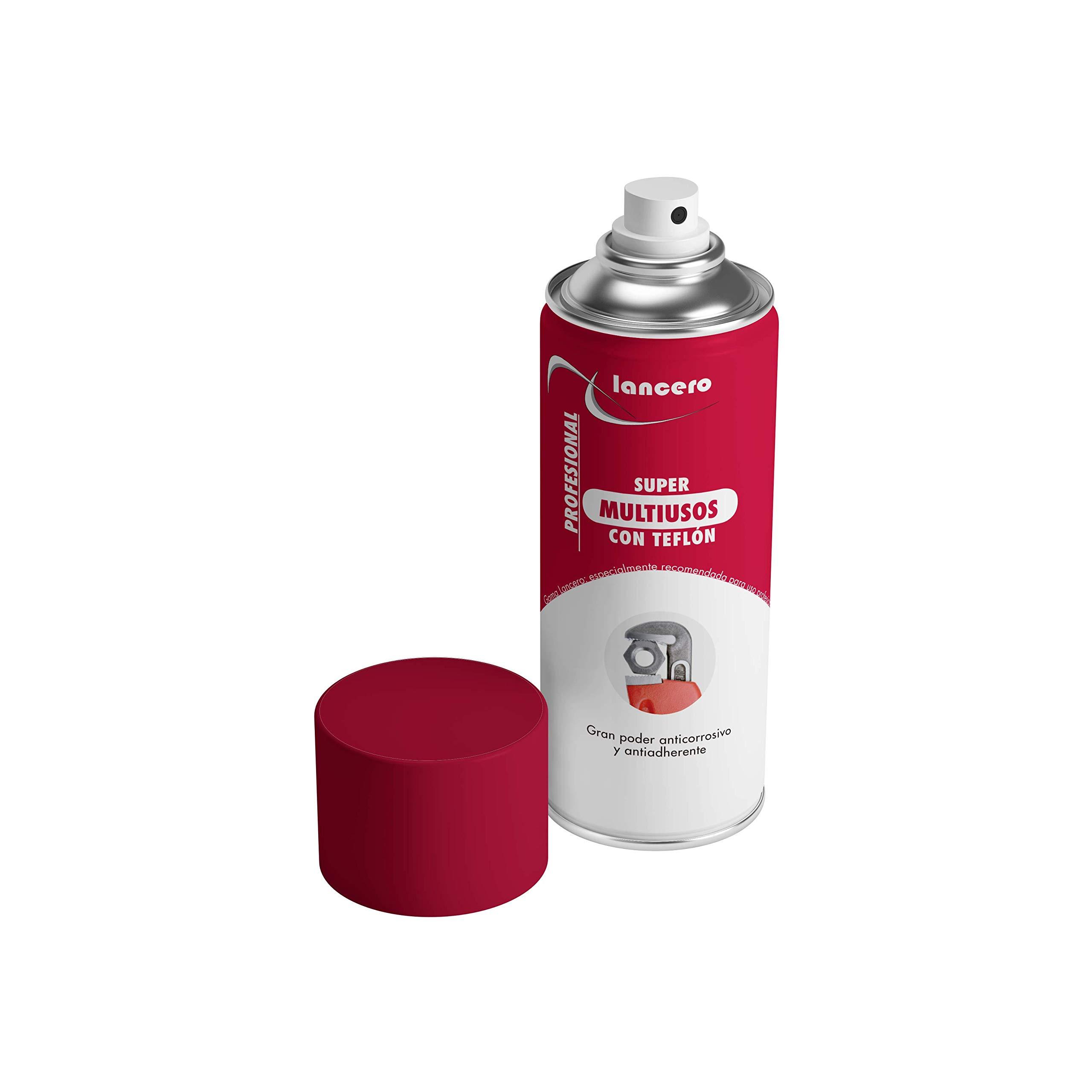 Lancero | Aceite multiusos con PTFE/teflón en spray | Grasa ...