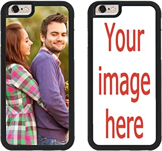 Custom iPhone Cases iPhone 6 iPhone 6S iZERCASE [Personalized Custom Picture CASE] Make Your Own Phone Case (Black)