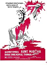 73356 Sometime Aunt Martha Does Dreadful Things Decor Wall 24x18 Poster Print