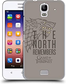 Official HBO Game of Thrones Stark Season 8 for The Throne Art Hard Back Case Compatible for Huawei Y360 / Y3