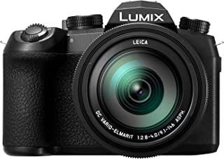 Panasonic Lumix DC-FZ1000 II - Cámara Bridge de 20.1 MP (Sensor 1 pulgadas 12fps Zoom de 16X Objetivo F2.8-F4 de 25- 400 mm 4K WiFi Bluetooth) Color Negro
